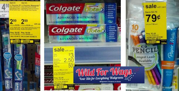 colgate oral b paper mate deal