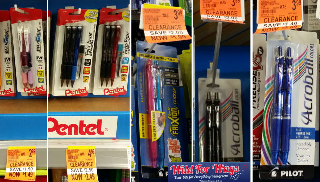 pen & pencil clearance deals