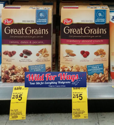 post great grains cereals
