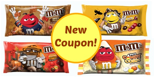 New M&M's coupons