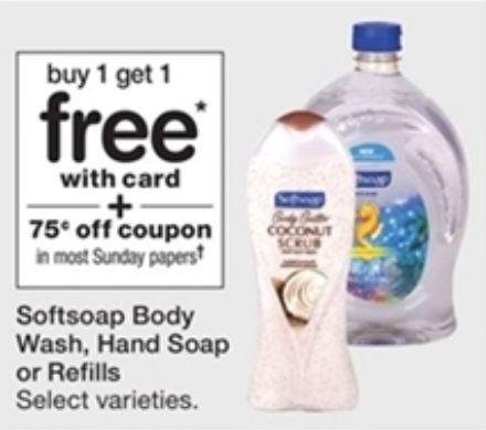 Look for Softsoap coupons between $ and $ off. Newspaper Softsoap coupons are more common than printable Softsoap coupons. Find the best deals on Softsoap.