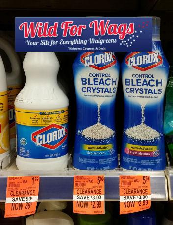clorox clearance