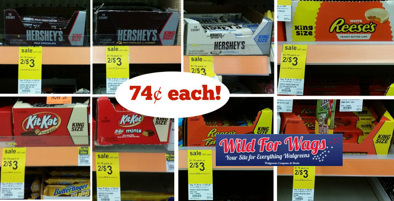 hershey's kit kat reese's king size deals