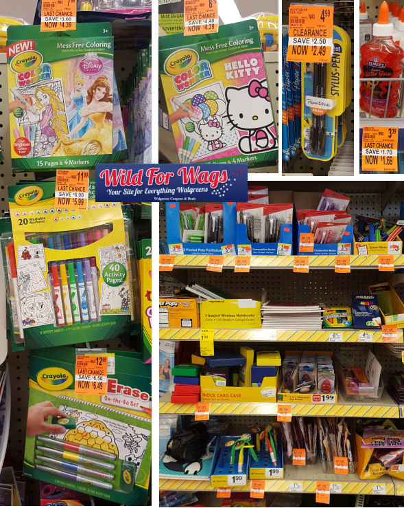 school supplies clearance deals
