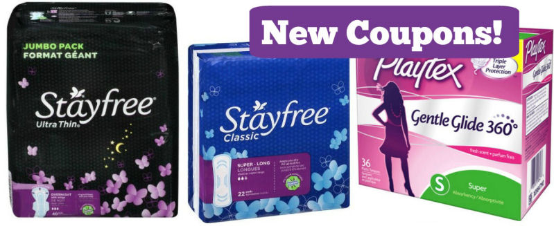 stayfree playtex coupons