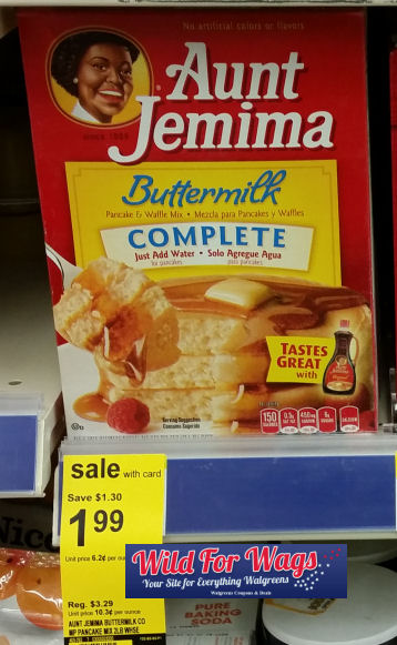 Aunt jemima syrup coupons