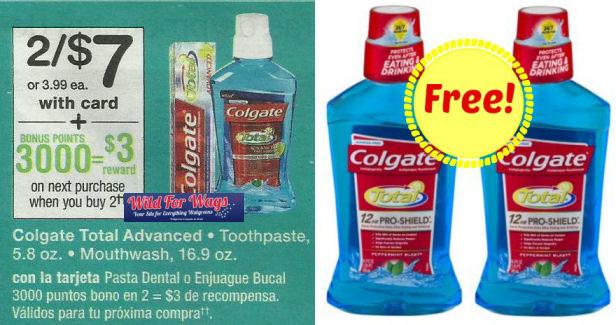 Colgate Rinse points deals