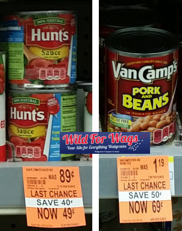 Food clearance deals