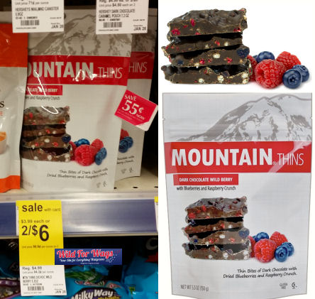 Mountain thins chocolate deals