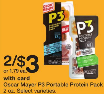 Oscar Mayer P3 Kroger moreover Oscar Mayer P3 Protein Packs As Low As Free At Winn Dixie besides Hip2saves Weekend Daily Dose 1016 1018 also Walmart Great Deals On Classico Pasta Sauce More furthermore Meijer 10 For 10 Get 11th Free Ad. on oscar mayer p3 portable protein packs as low