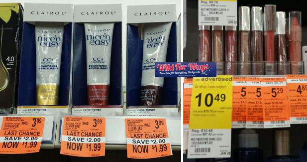 clairol & neutrogena deals