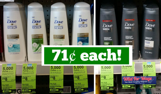 dove hair care deal