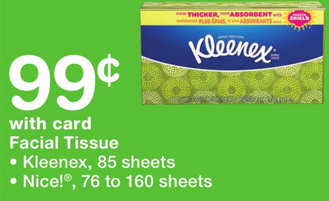 250 ct kleenex facial tissue