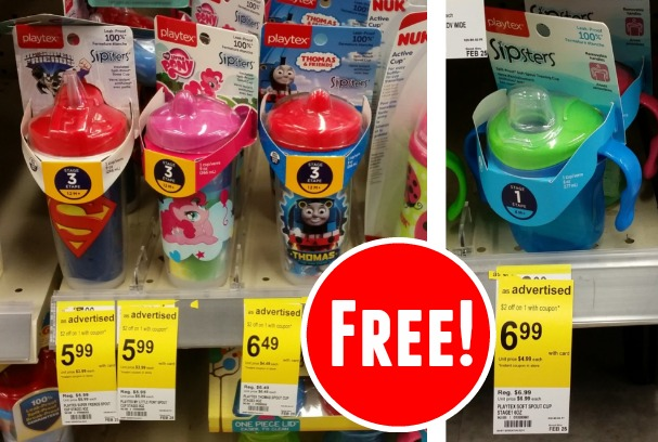 Free Sippy Cups at Walgreens