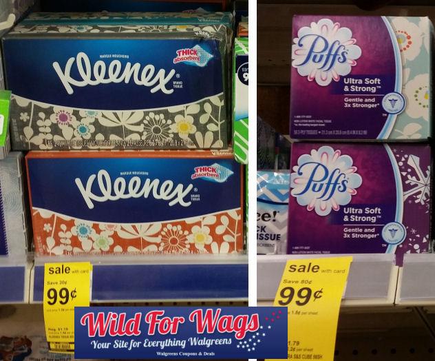 Kleenex and puffs deal