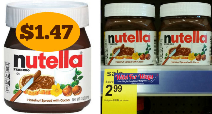 Nutella spread deal