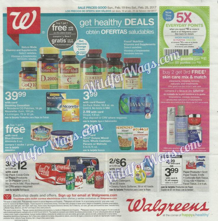 Walgreens Ad Scan 2-19 pg1m