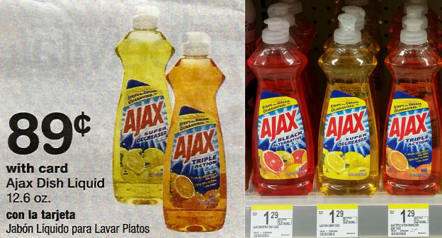 ajax soap deals