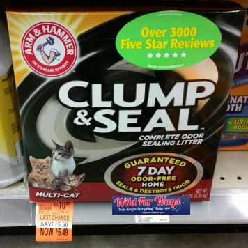 arm & hammer clump & seal clearance deal