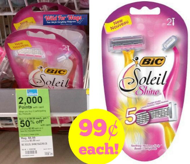 bic soleil shine deal