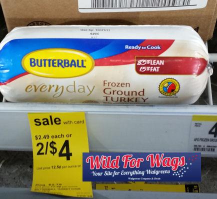 butterball ground turkey deal
