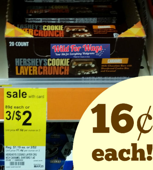 hershey's cookie layer crunch monthly deal