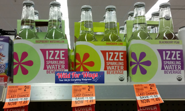 izze clearance deal