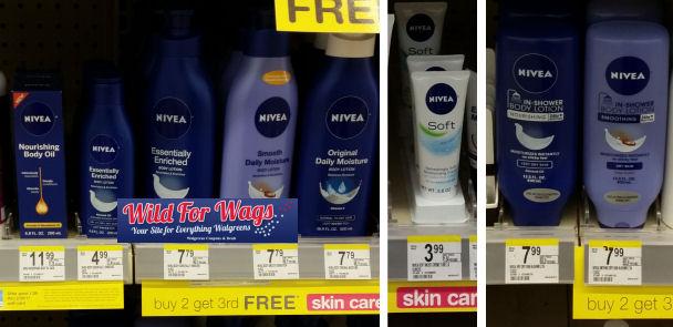 nivea lotion and cream deals
