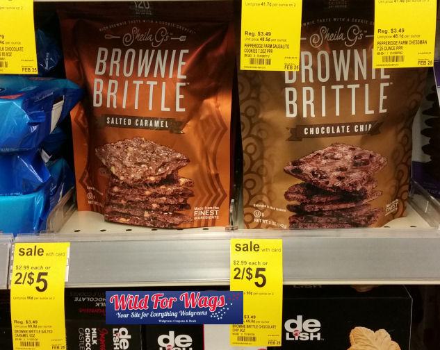 sheila g's brownie brittle deal