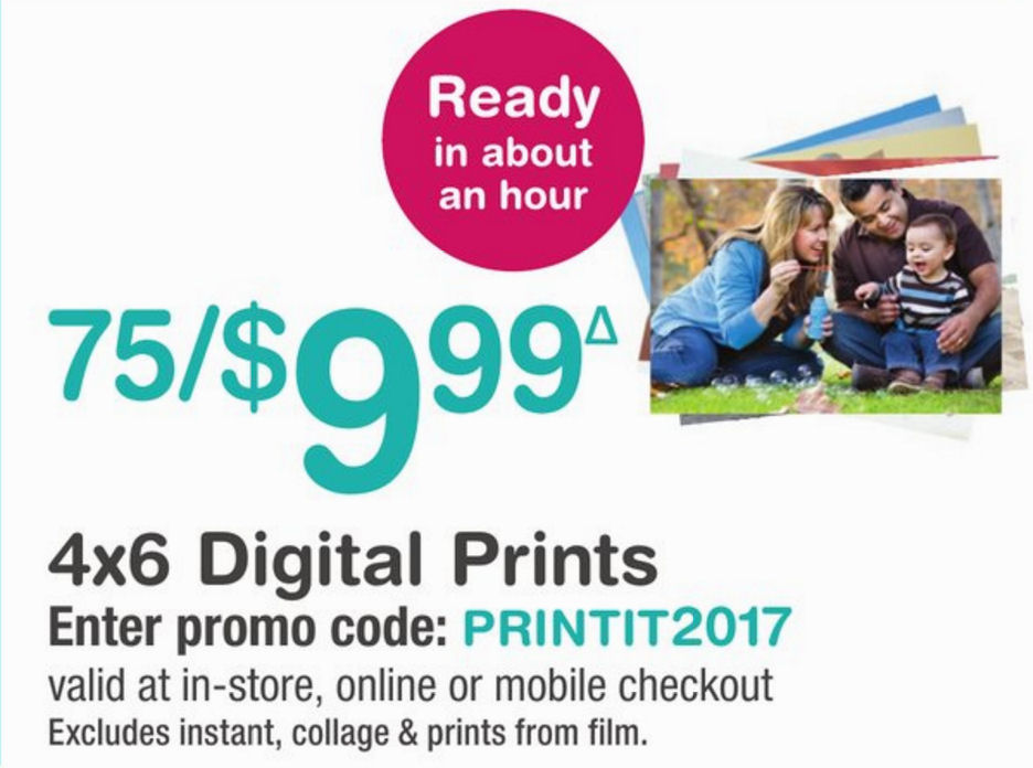 Walgreens 4x6 coupon code