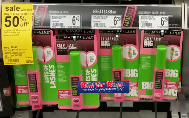 Maybelline great lash deal