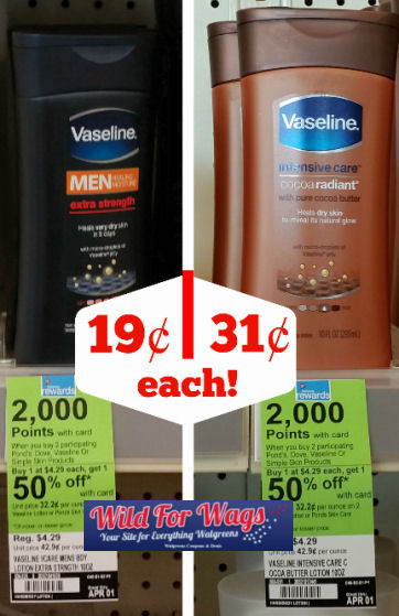 Vaseline lotion deals