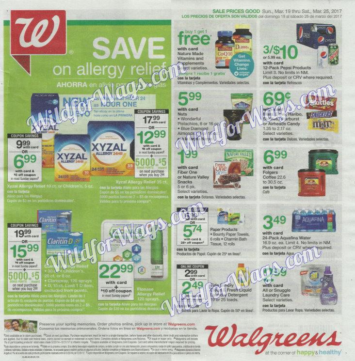 Walgreens Ad Scan 3-19-17 pg 1b