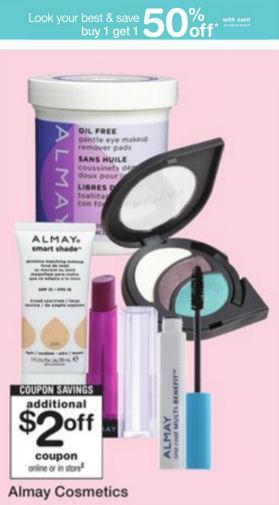 almay cosmetics deals