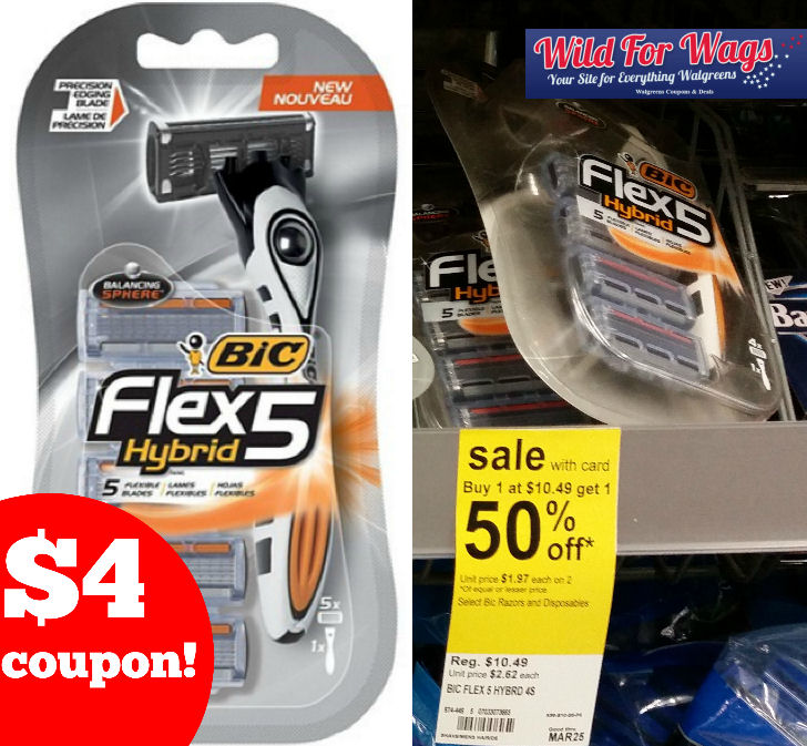 bic flex 5 hybrid coupon