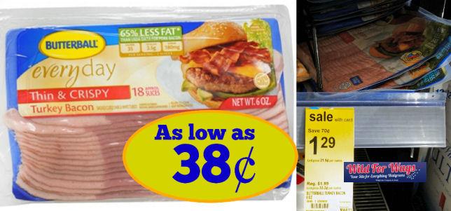 butterball turkey bacon deals