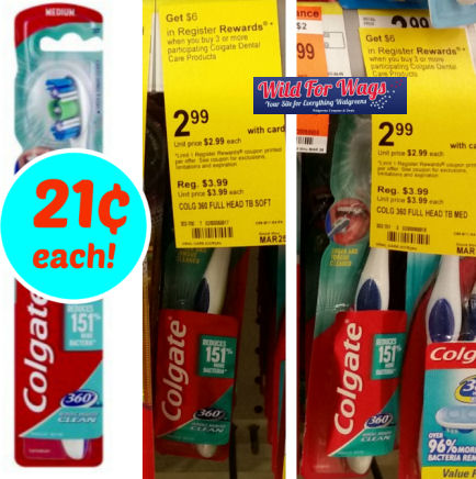colgate toothbrush deals