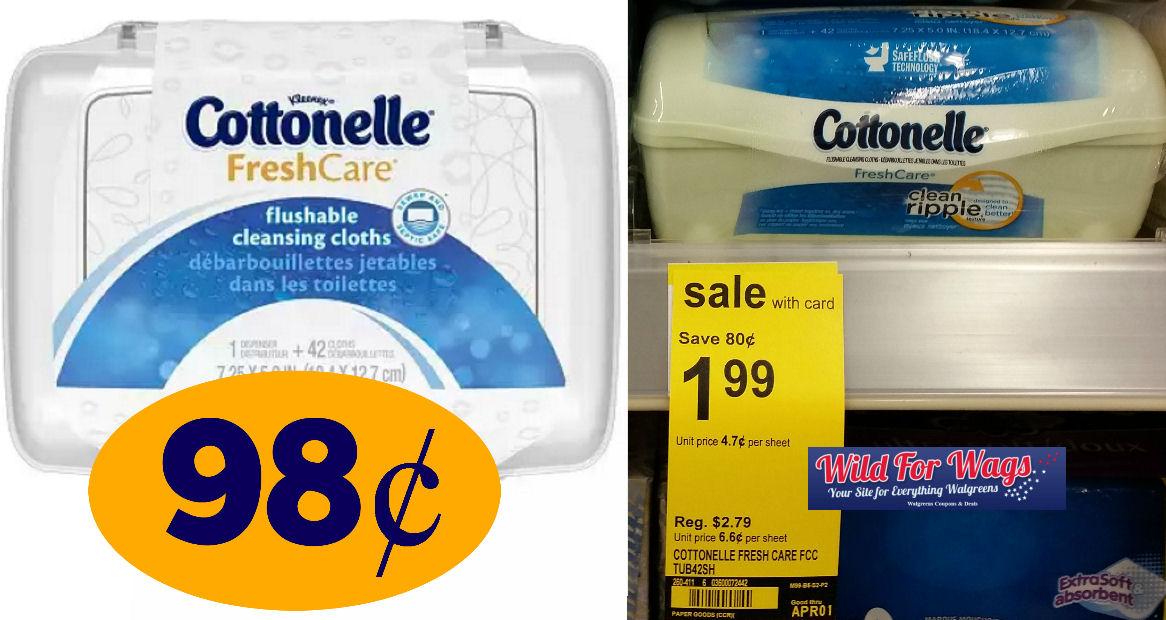 cottonelle cloths deals