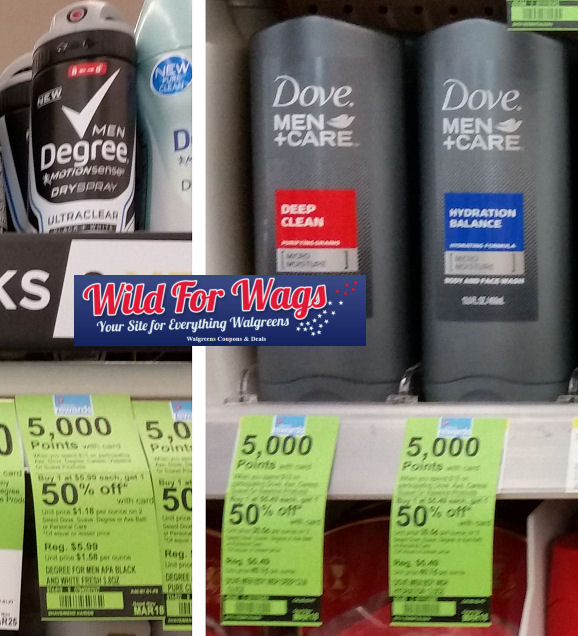 degree dove men+care deals