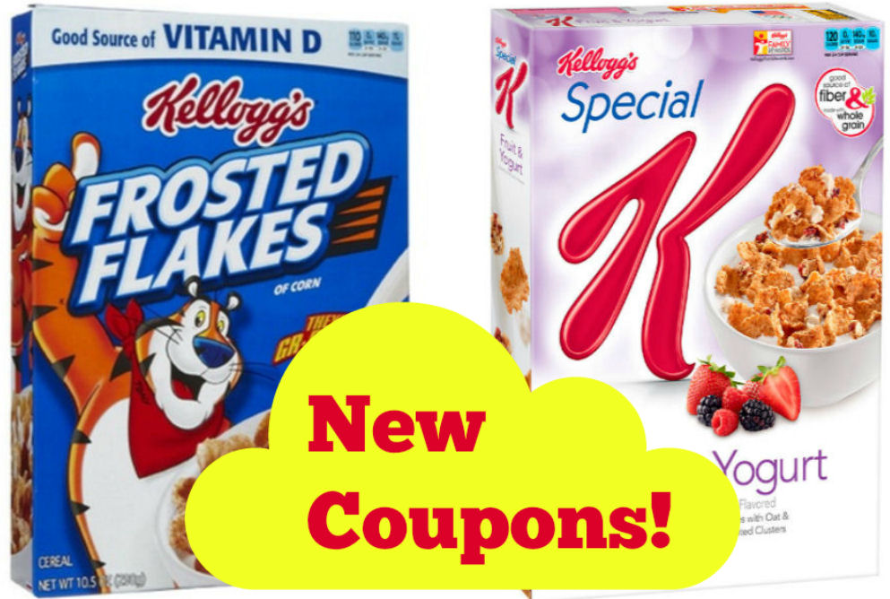 new kellogg's coupons