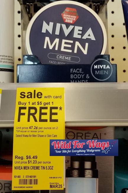 nivea men lotion deals