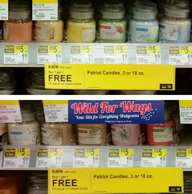 patriot candles deals