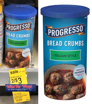 progresso crumbs deal