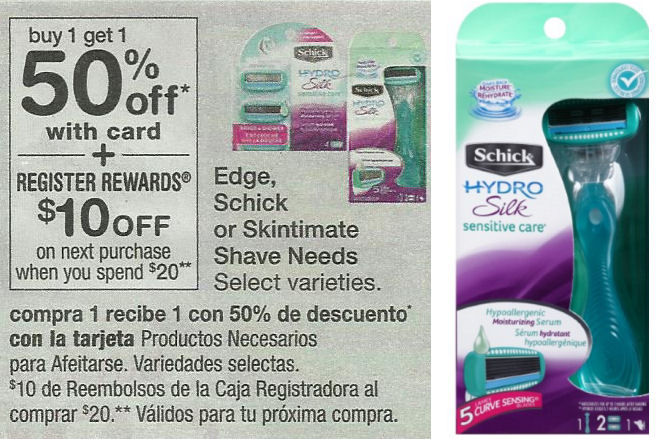 schick hydro deal