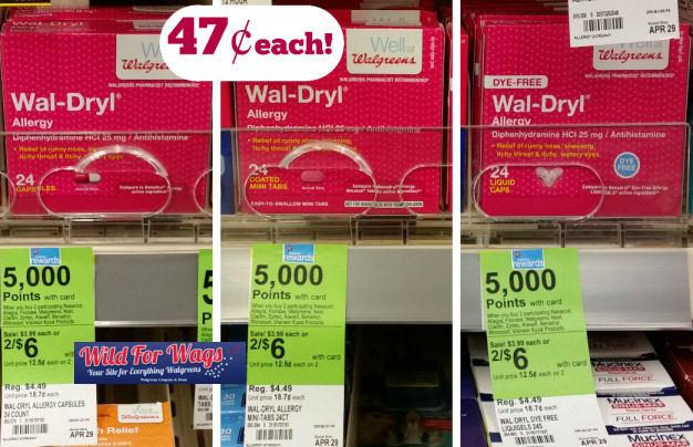 wal-dryl antihistamine deal