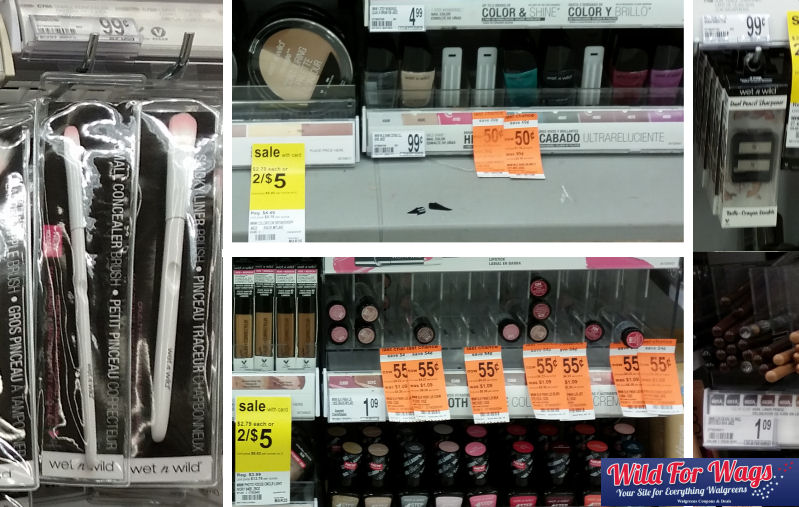 wet n wild cosmetics clearance deals