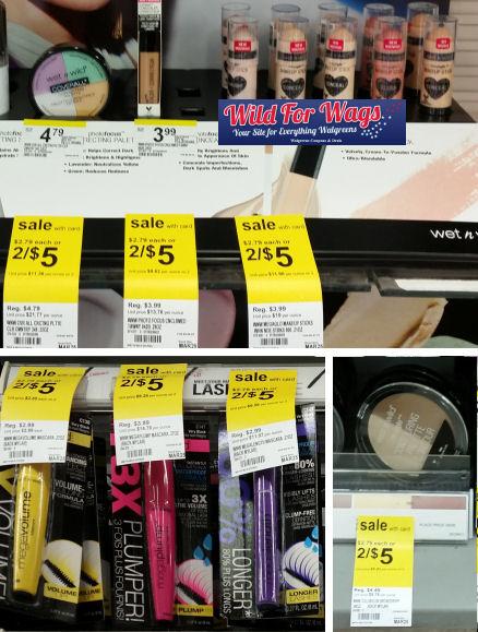 wet n wild mascara & face deals