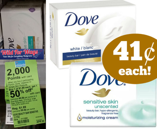 Dove beauty bars deal