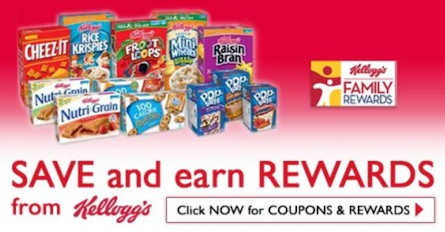 Kellogg's Family Rewards poionts