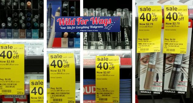 Rimmel Cosmetics deal